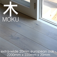 Extra Wide Engineered Oak Floorboards