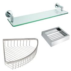 Shower Shelves and Soap Baskets
