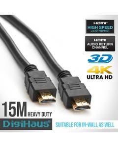 DigiHaus Ultra Premium HDMI Cable - 15m