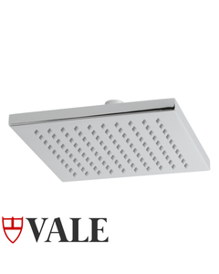 Vale Square rain shower head - 200mm square