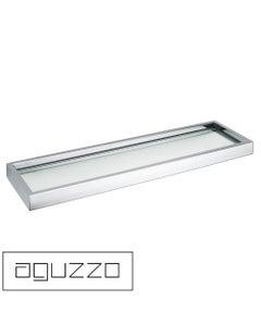 Aguzzo Montangna Brushed Satin Glass Shelf
