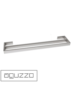 Montangna Stainless Steel Double Towel Rail - Polished - 600mm/750mm/900mm