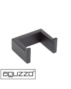 Aguzzo Stainless-Steel-Double-Robe-Hooks-Matte-Black