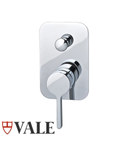 Vale Brighton Wall Mounted Shower Mixer with Diverter