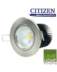 10W LED downlight kit with steel frame