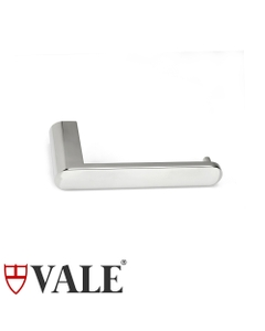 fluid polished stainless steel toilet roll holder without cover