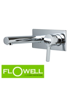 Jaden Wall mounted Mixer and Spout