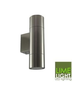 Sorrento outdoor stainless steel wall up and down light