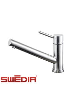 SWEDIA Oskar Stainless Steel Kitchen Sink Mixer without Pull Out