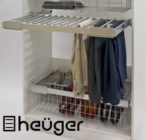 Heuger wardrobe with brand