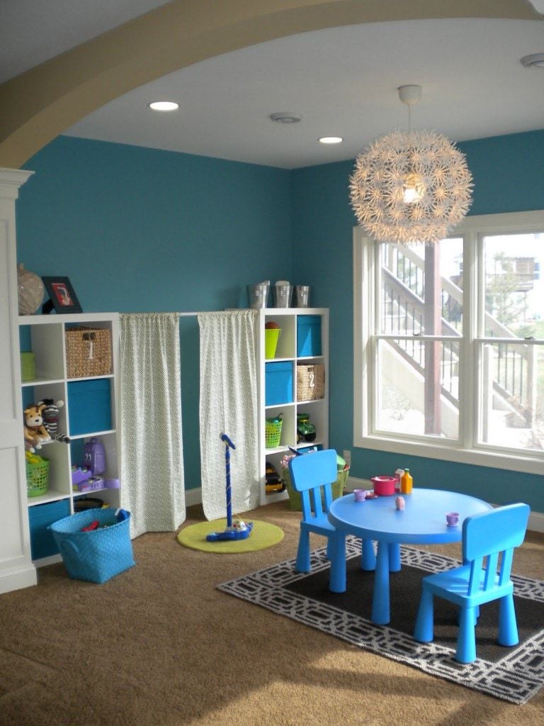 playroom with window