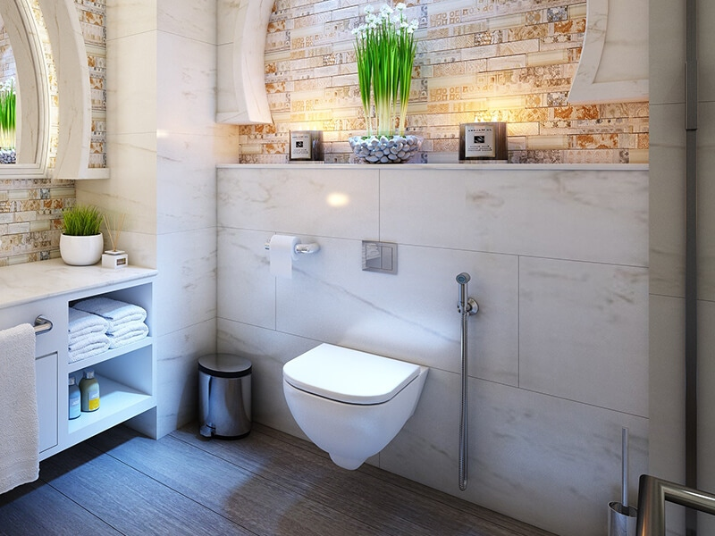 How To Mount And Place A Toilet Paper Holder To A Ceramic Tile
