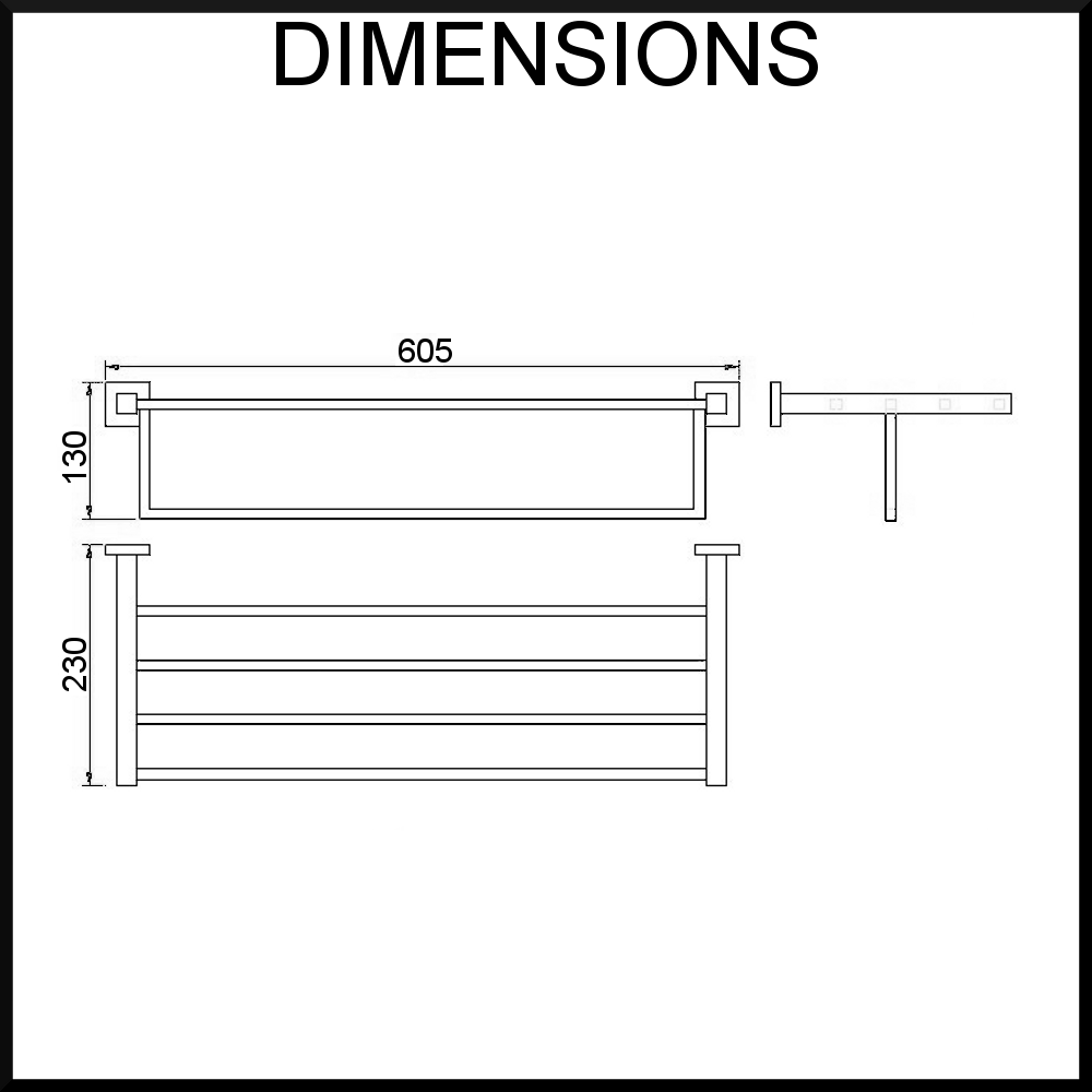 Quadro-towel-rack-dimension-diagram
