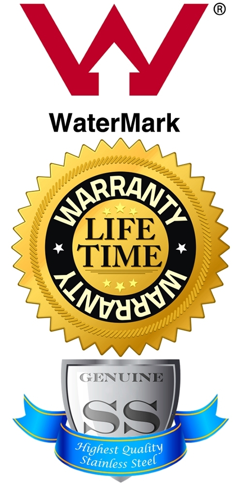 Australian Watermark Certified, Lifetime Warranty, Solid 304 Stainless Steel