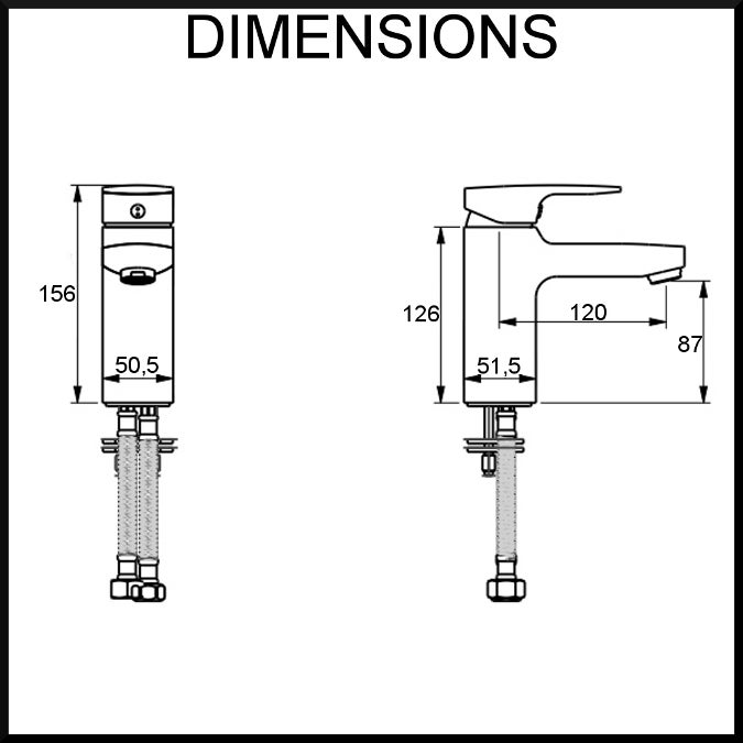 single-lever-basin-mixer-tap-dimensions