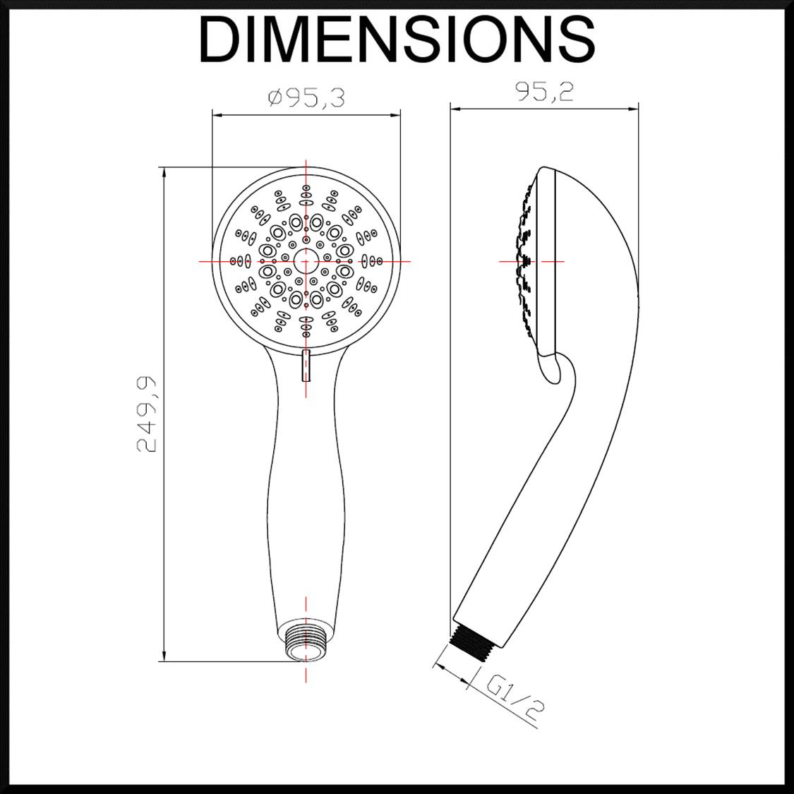lotus-7-function-hand-shower-dimensions