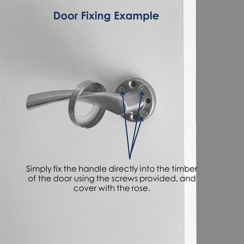 Kaiser Dummy Door handle set