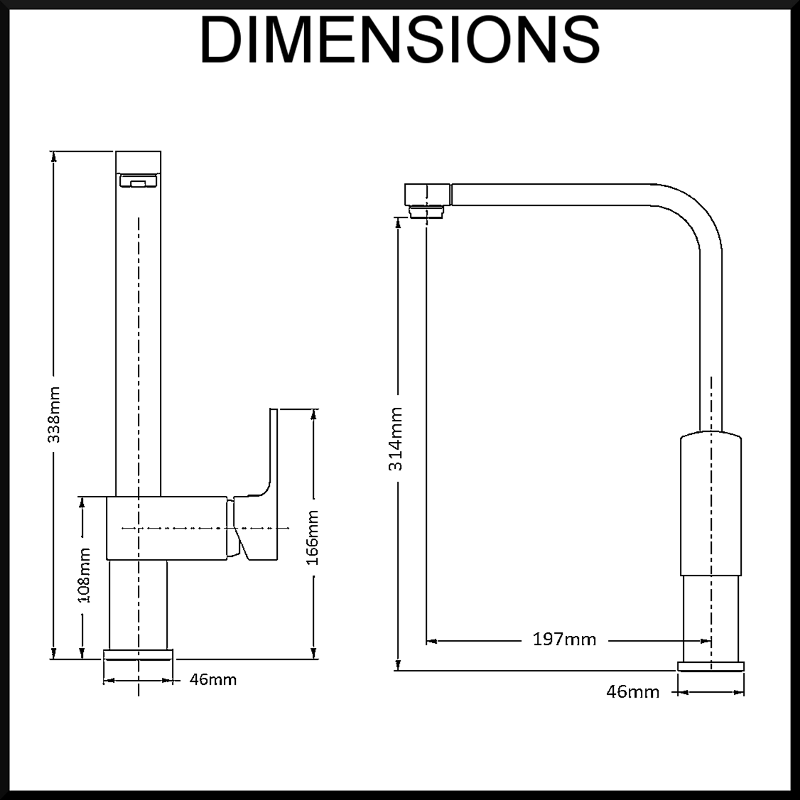 aguzzo-trento-kitchen-tap-mixer-dimensions
