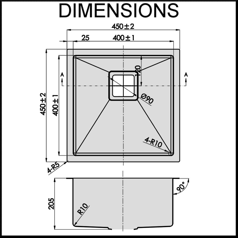 dante-single-stainless-steel-sink-dimensions