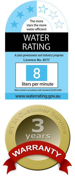 3-Star Water Rating