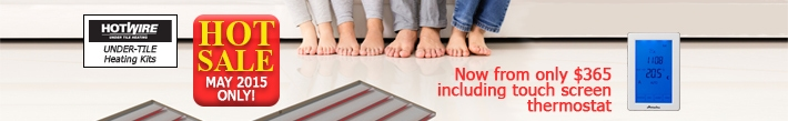 15% OFF All Howire Under Tile Heating DIY Kit
