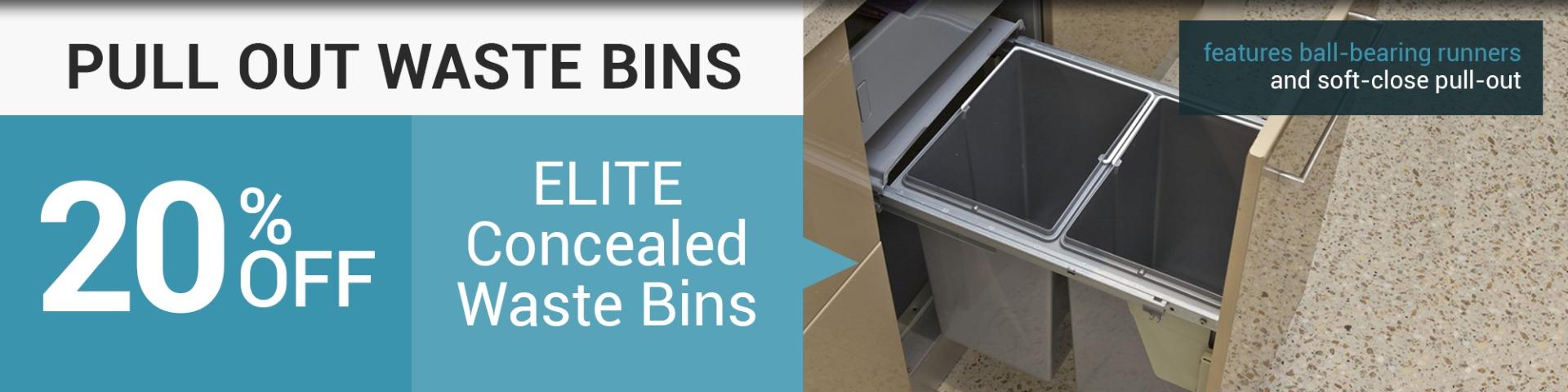 kitchen waste bin sale, pull out bins, rubbish bins