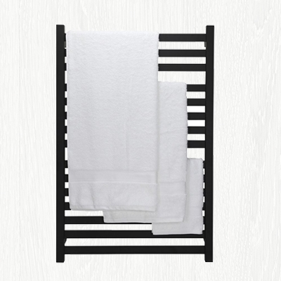 bathroom ideas for black towel rack, black heated towel rail, matte black towel rail heated for bathrooms