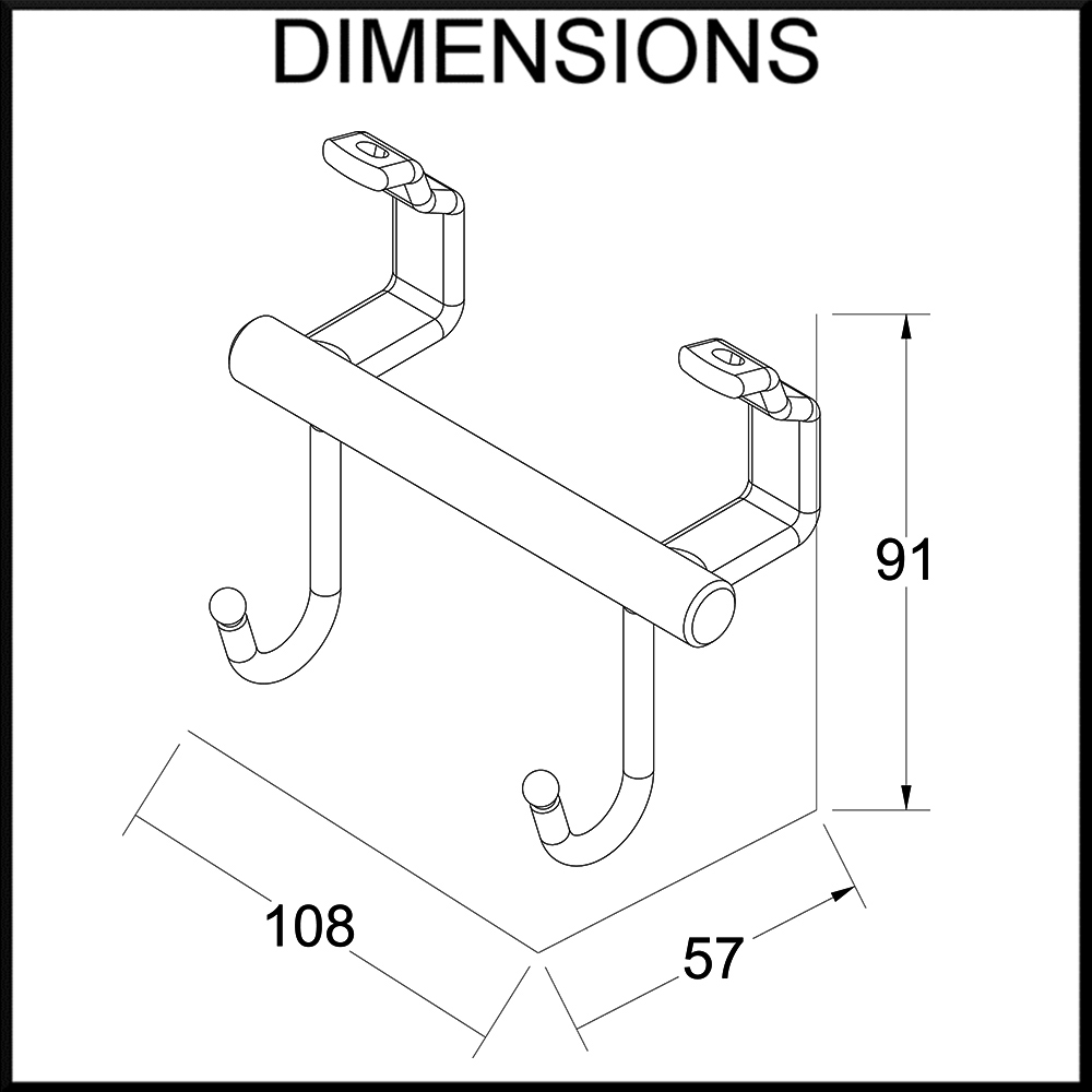 double-hanging-hook-dimensions