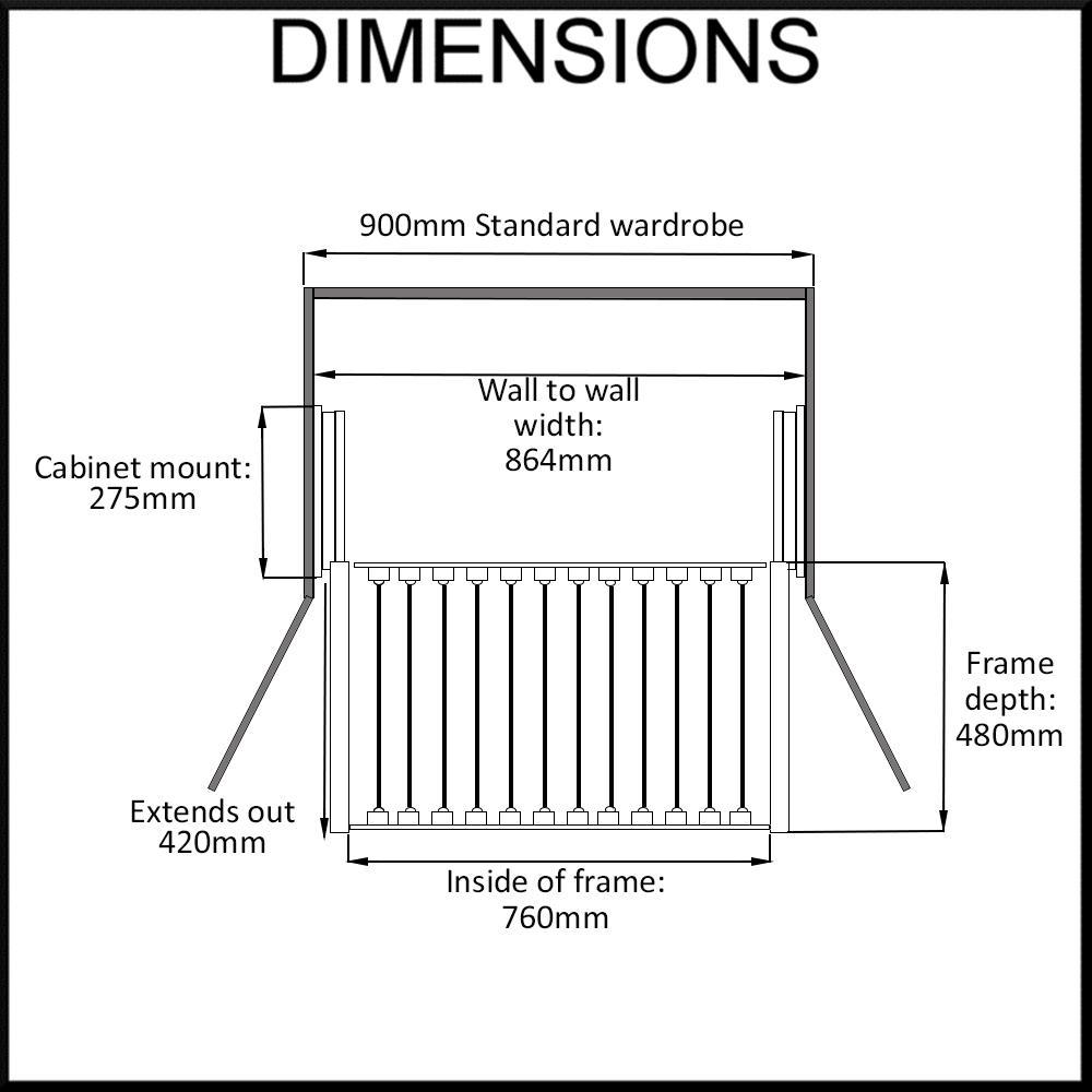 heuger-trouser-rack-dimensions