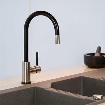 black sink mixer nz