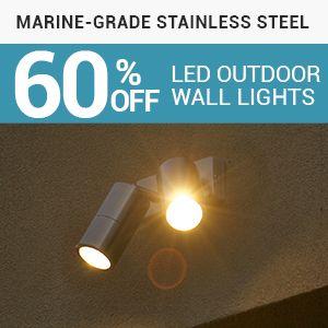 led lights, outdoor lighting, led wall lights, wall lights australia