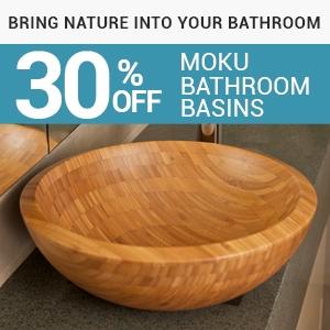 bathroom basin, sink, bamboo basin, oak basin, stone basins
