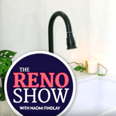 the reno show, naomi findlay, aquaperla mixer tap