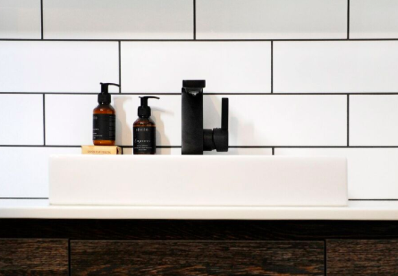black tapware for the bathroom